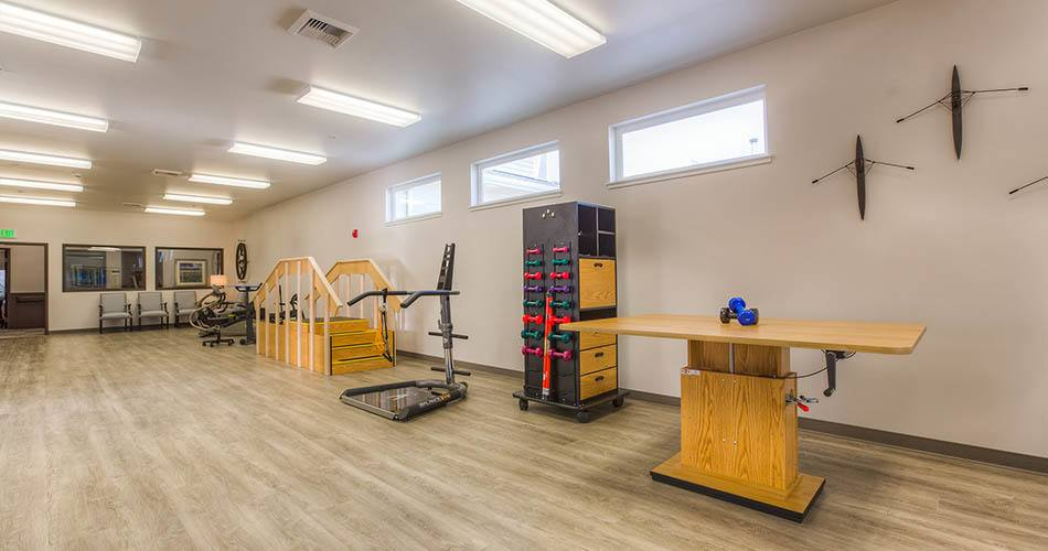 Physical therapy at Regency Wenatchee Rehabilitation and Nursing Center in Wenatchee, WA