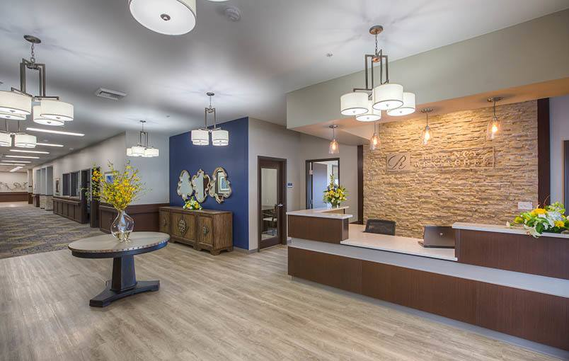 Beautiful interior at Regency Wenatchee Rehabilitation and Nursing Center in Wenatchee, Washington