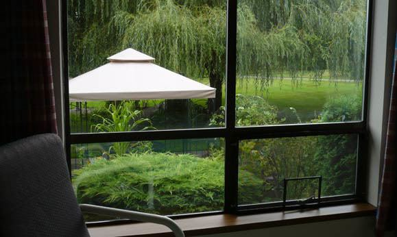 View out the window at Regency Gresham Nursing and Rehabilitation Center