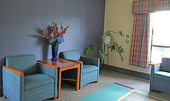 Living room at Regency Gresham Nursing and Rehabilitation Center in OR