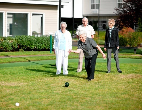 The amenities at our senior living community in Newcastle, Washington, are wonderful.