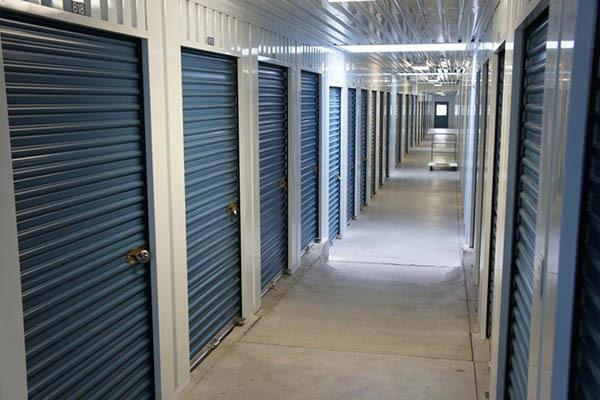 inside storage units at Store It All FW LLC in Mesquite