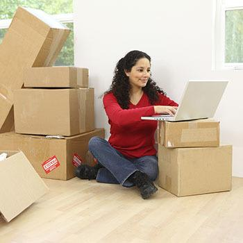 Taking an unpacking break at Store It All Self Storage - Del Valle in Del Valle