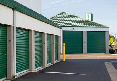 Another image of our secure storage facility here at A Storage Place