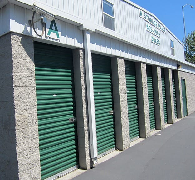 Our self storage features at our facility in Chino
