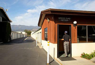 Office at self storage in Carpinteria