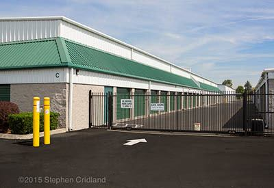 Gated access at self storage in OR