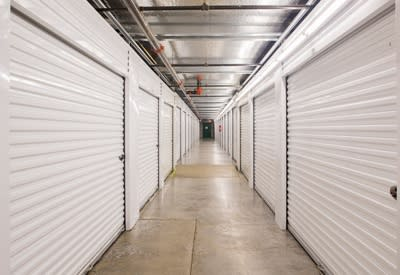 Image of our secure storage facility here at A Storage Place in Keizer, OR