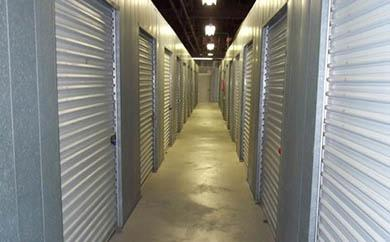 Inside storage row 1