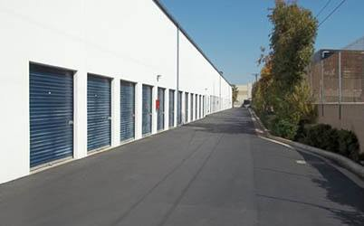 Large Storage row from outside