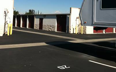 RV and boat storage is available