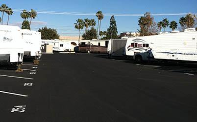 RV Storage row
