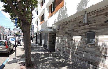 San Francisco apartment building exterior