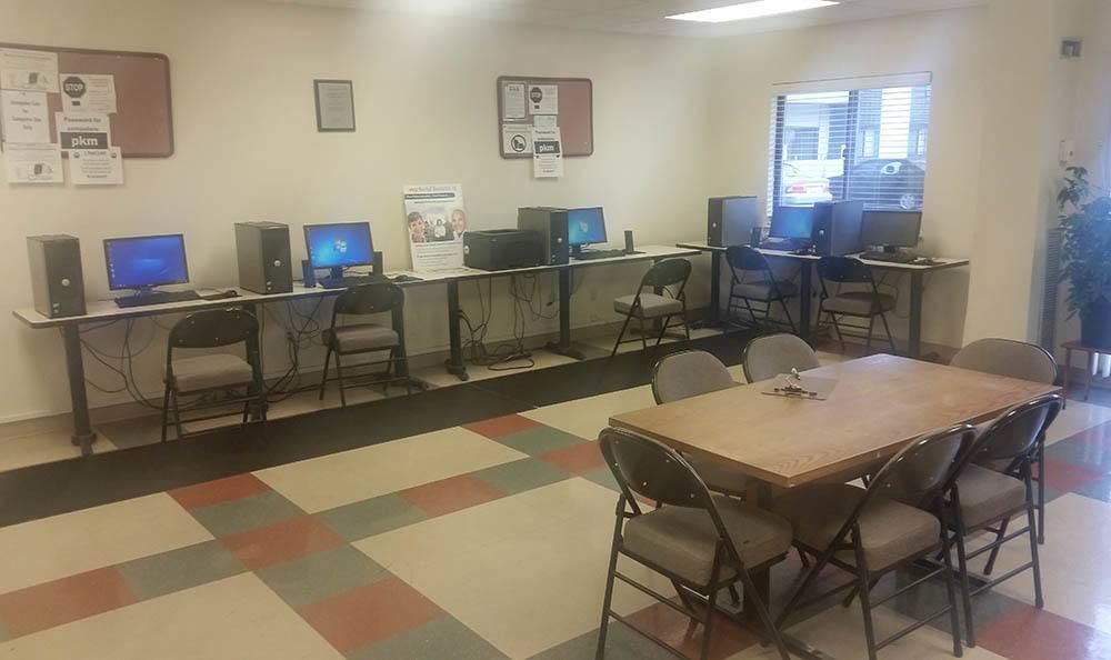 Euclid Apartments Computer Lab