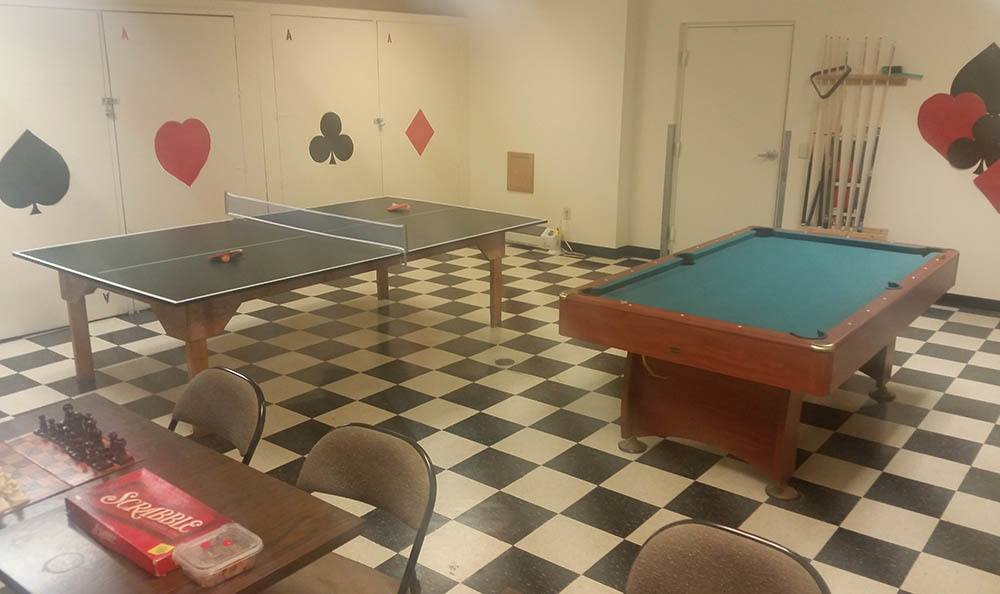 Euclid Apartments Game Room