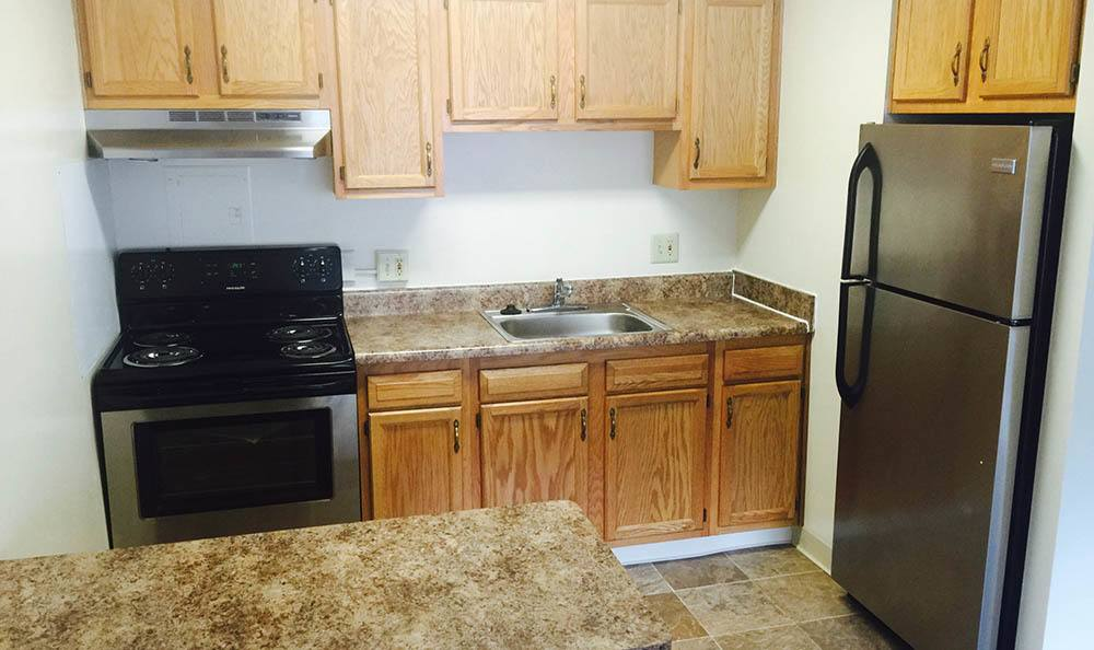 Euclid Apartments Kitchen