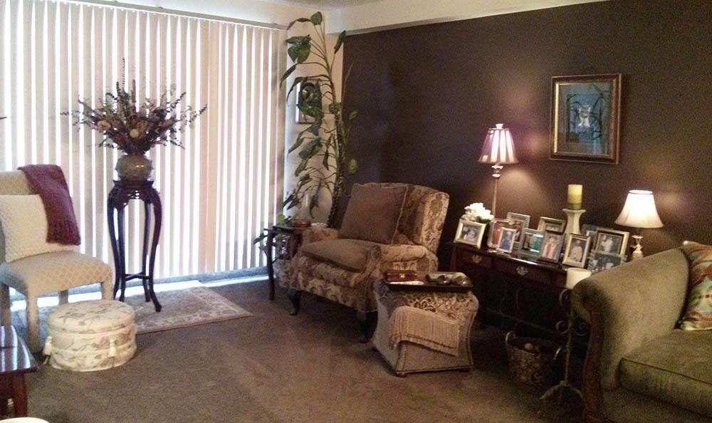 A second living room option at Euclid Hill Villa
