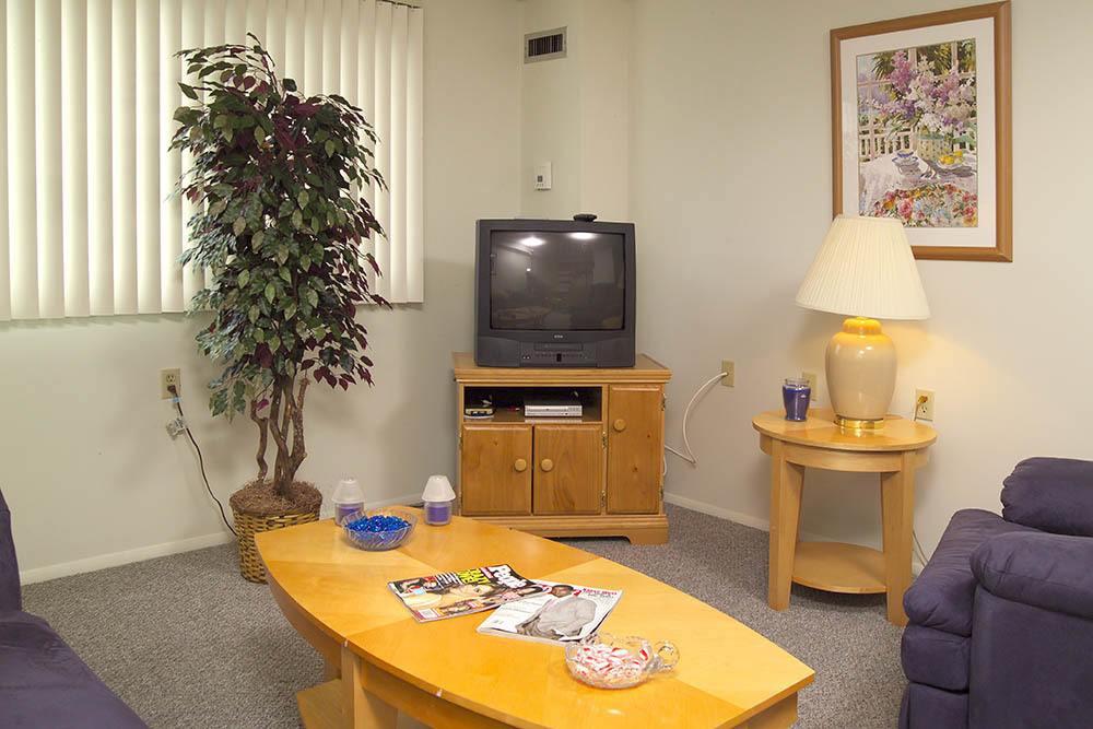 Cleveland Senior Apartment Living Room