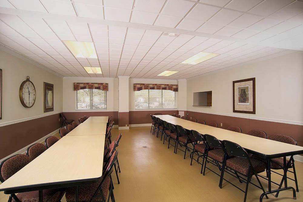 Senior Apartments Community Room