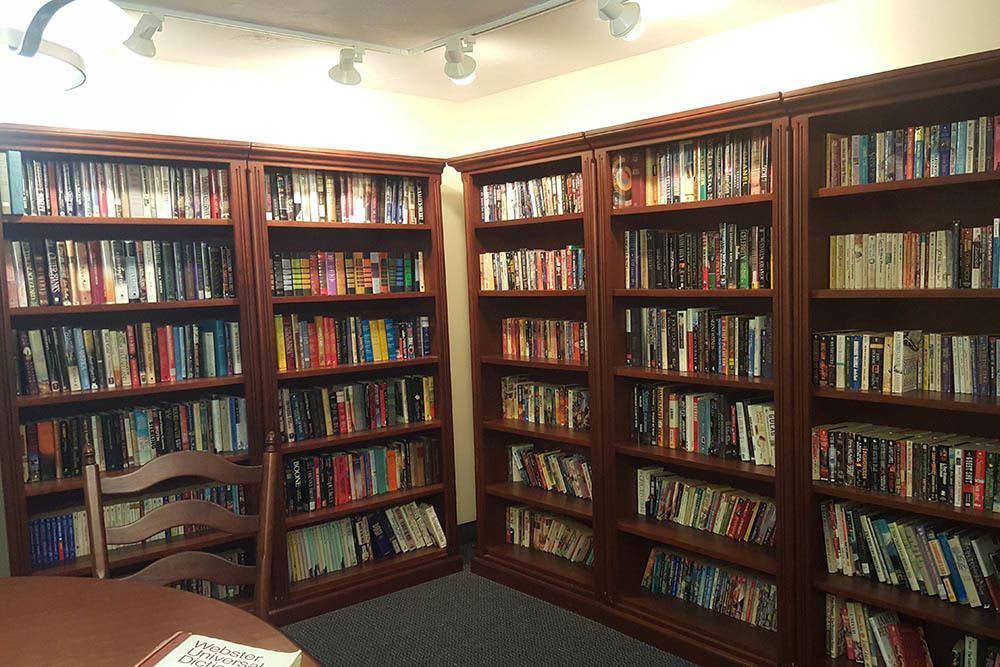 Small Senior Apartments Library