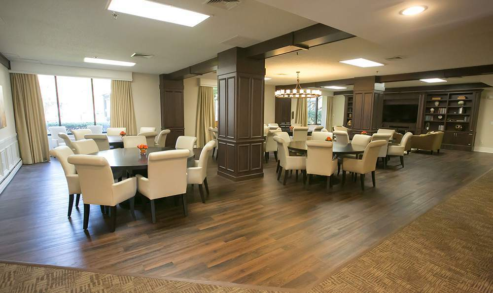 Dining Room for the apartments in Trenton