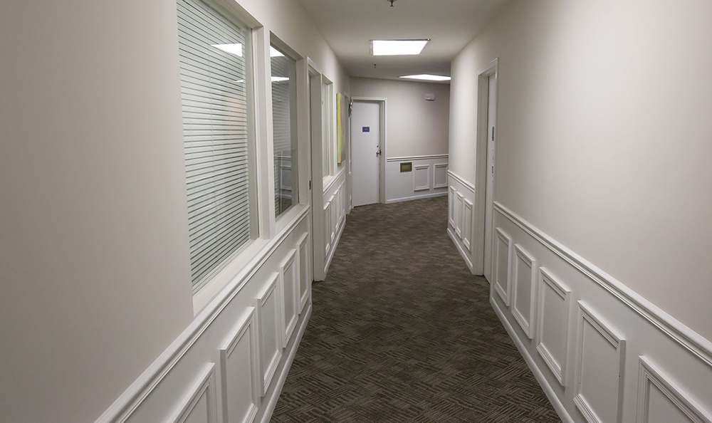 Relaxing Hallway at the apartments in Trenton