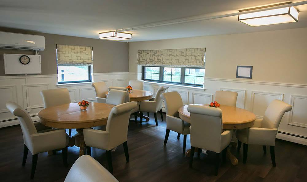Trenton Senior Apartments Common Dining Room