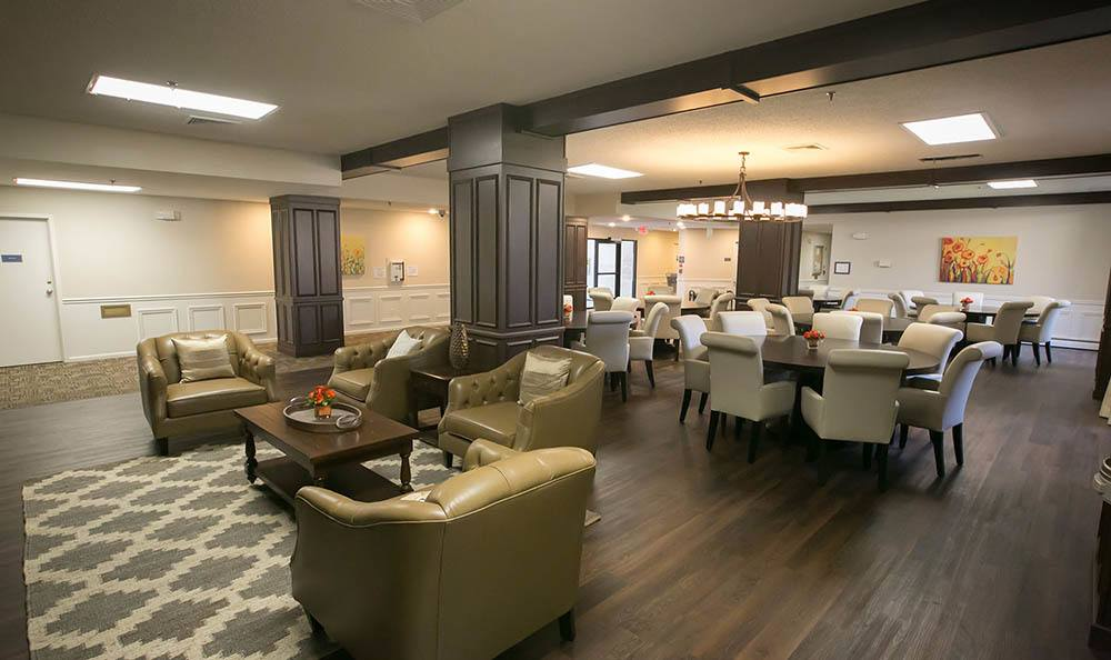Trenton Senior Apartments Dining Area