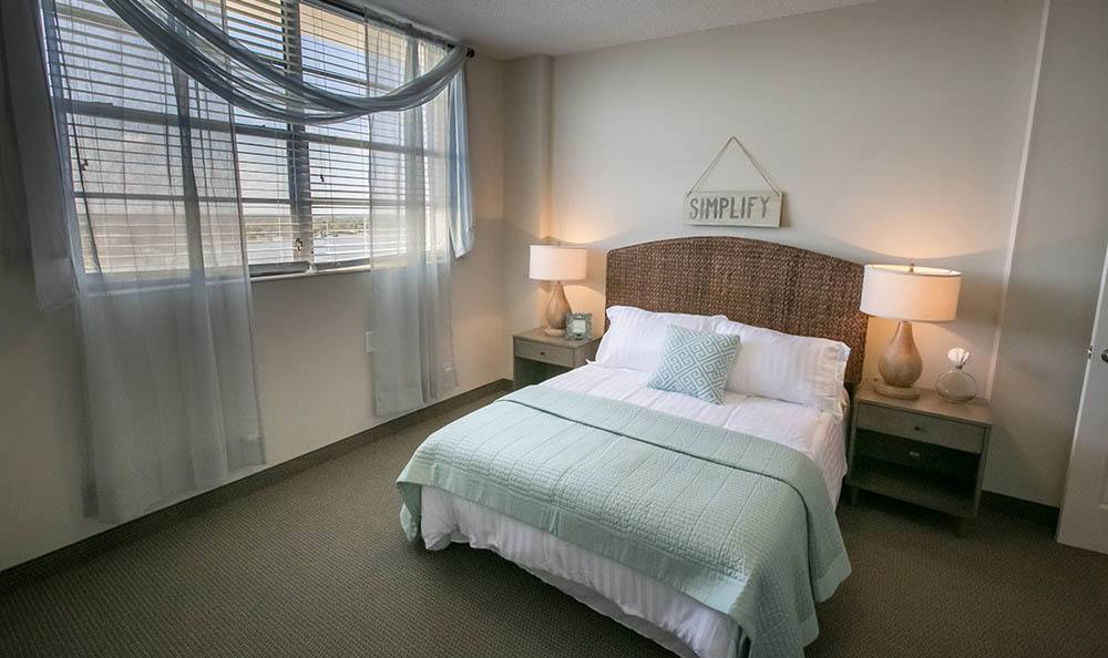 Winter Haven Senior Apartments have open Bedrooms
