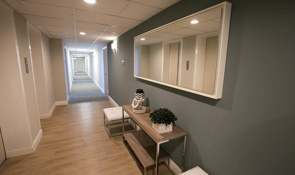 Winter Haven Senior Apartments Has Wide Hallways
