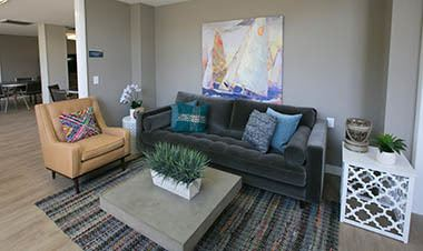 Lounging area in Winter Haven apartments
