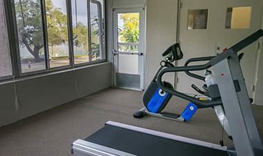 Winter Haven apartments feature a gym
