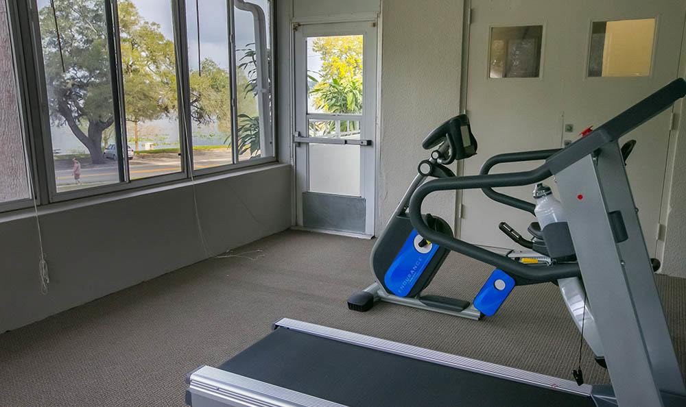 Winter Haven Senior Apartments has a clean Gym