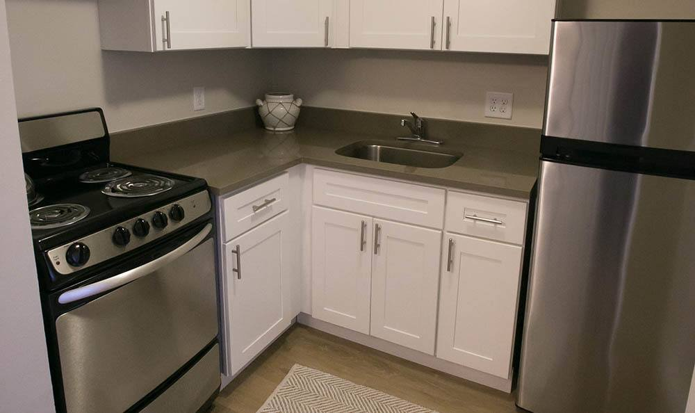 Winter Haven Senior Apartments have modern Kitchens