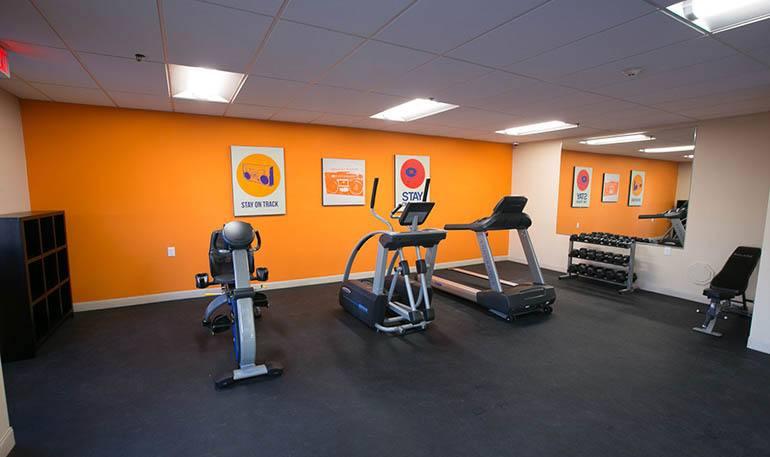 Detroit Senior Apartments have a modern Fitness Center