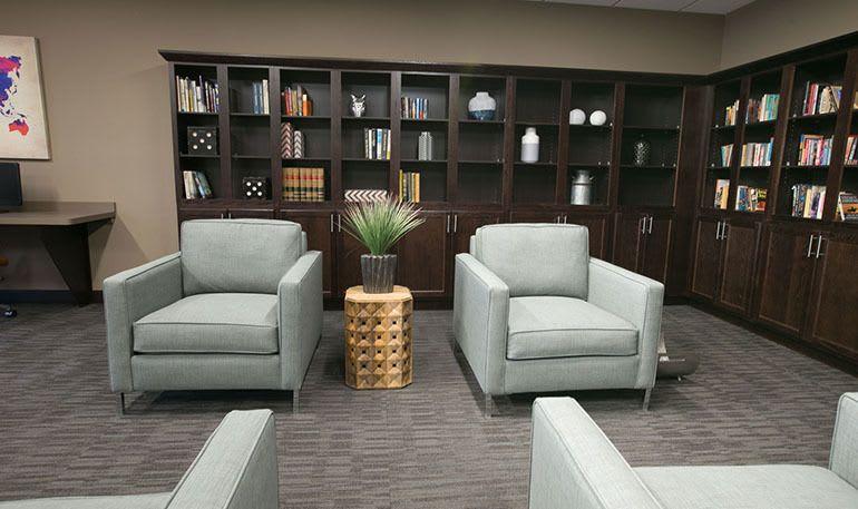 Detroit Senior Apartments has a spacious Library Room