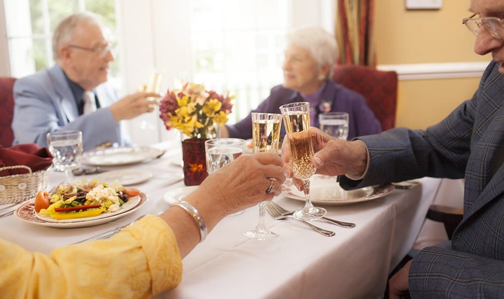 Dine With Friends At Senior Living Community In West Chester Pa