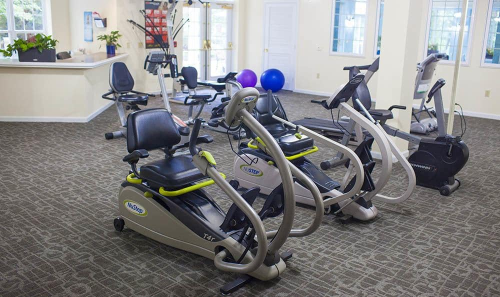 Exercise Facility At Senior Living Community In West Chester Pa