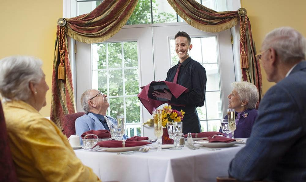 Fine Dining At Senior Living Community In West Chester Pa