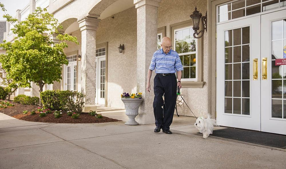 Pet Friendly Senior Living Community In West Chester Pa
