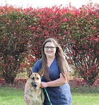 Team member Alexis at Stateline Hillcrest Small Animal Hospital