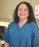 Team member Annette at St. Francis of Assisi Veterinary Medical Center