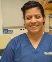 Team member Priscilla at St. Francis of Assisi Veterinary Medical Center