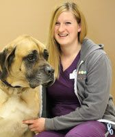 Katie at Sioux Falls Animal Hospital