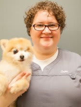 Crystal Dawson at Lynnwood Animal Clinic