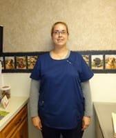 Lauren at Lubbock Animal Hospital