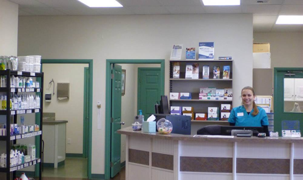 Front Desk At Greywolf Veterinary Hospital