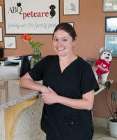 Jen at ABQ Petcare Hospital