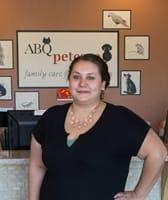 Stephanie at Albuquerque Animal Clinic