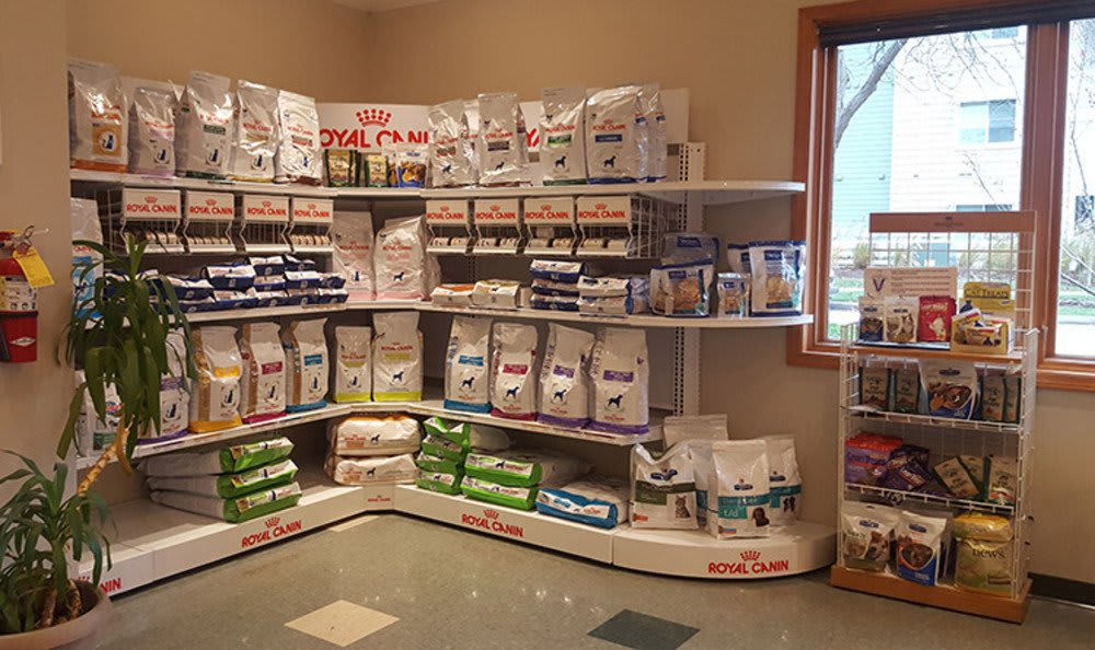 Food at College Mall Veterinary Hospital  In Bloomington